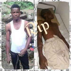 HEARTBREAKING!!! See How Nigeria Police Killed A Young Man In Rivers State – The Details Will Make You Cry (Photos)