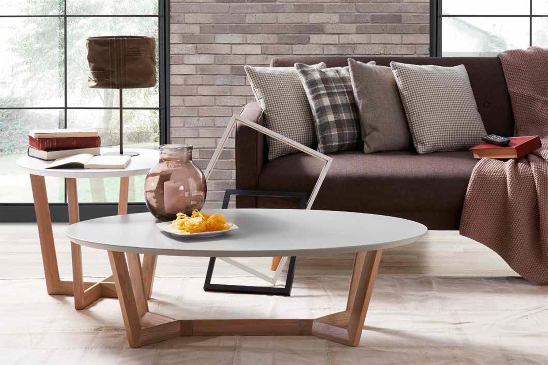 Muebles para casas peque as mesas de centro redondas para for Mesas ordenador para espacios pequenos
