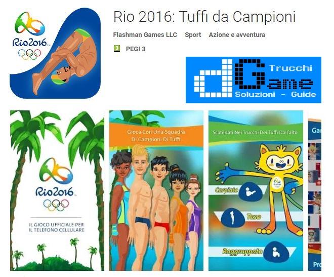Rio 2016 Tuffi da Campioni APK MOD con trucchi maggiori abilità Android