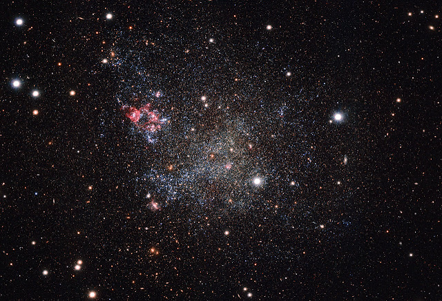 The Milky Way's clean and tidy galactic neighbour