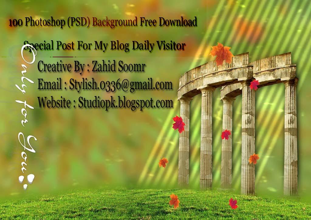 100 Photoshop (PSD) Karizma Album Background Free Download
