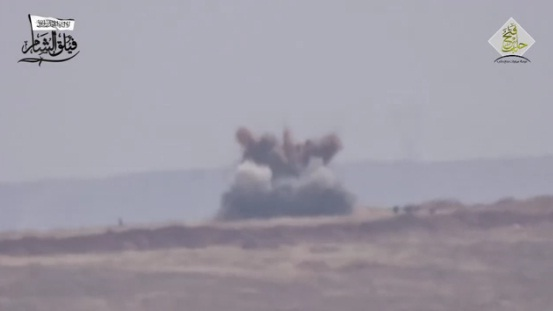 Video: Misil Kornet Pejuang Suriah Hantam Iringan Tentara Syiah Assad