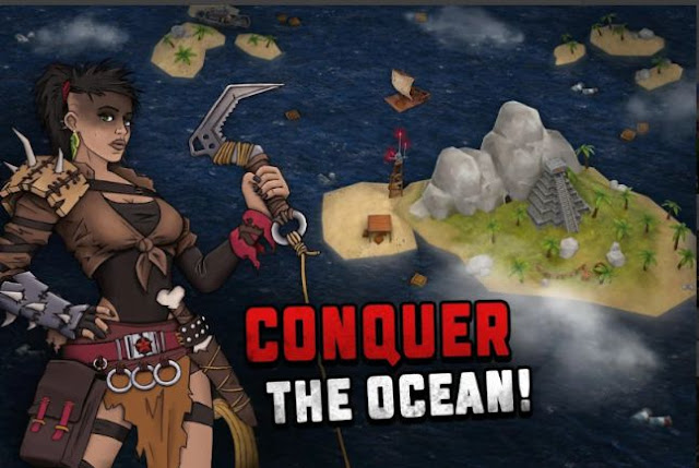 Game Bertahan Hidup Offline Android Ocean Nomad APK