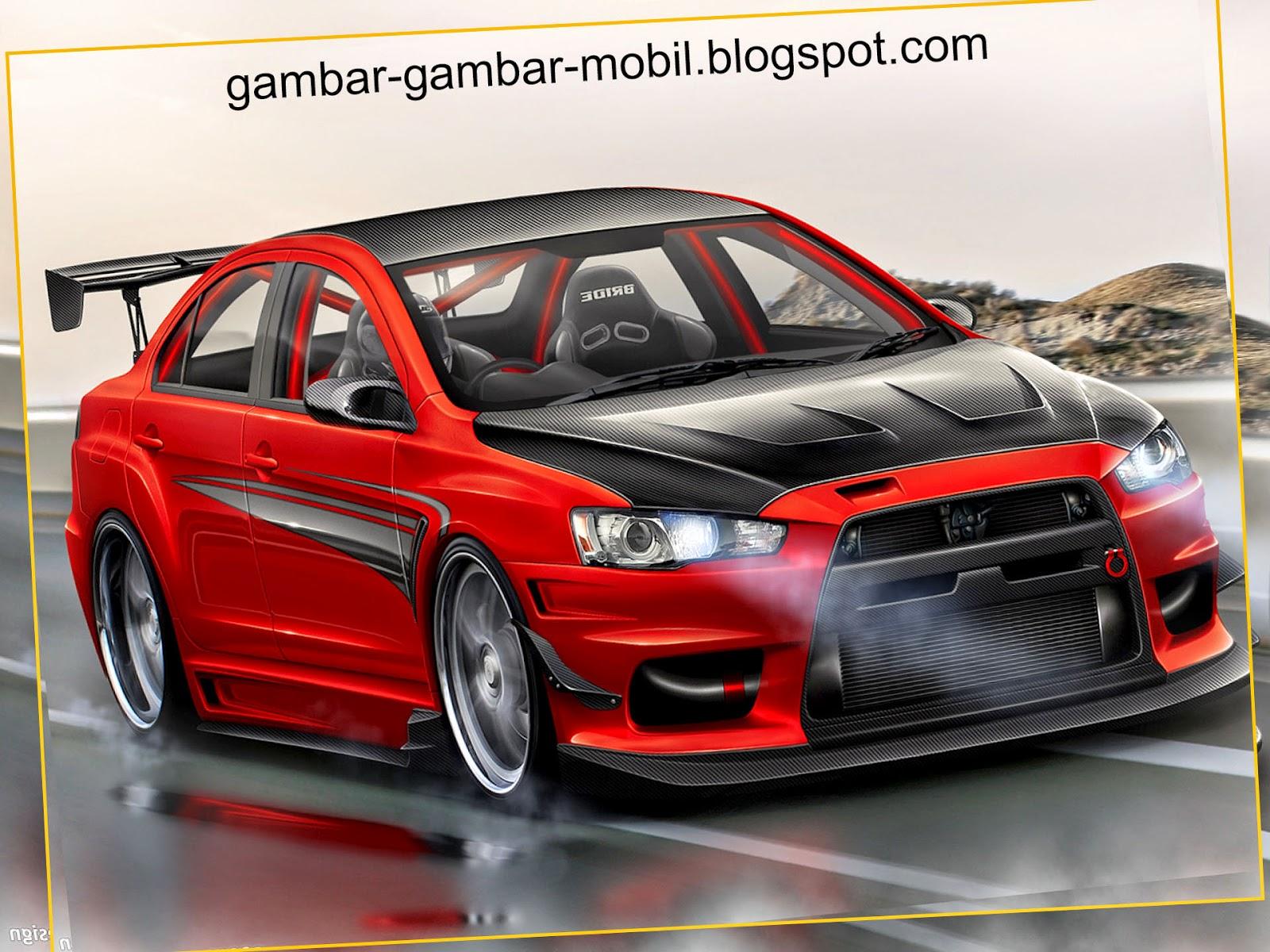 Gambar Mobil Modifikasi Mitsubishi Lancer Modifikasi Mobil