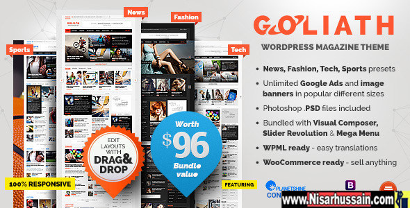 GOLIATH v1.0.36 – Ads Optimized News