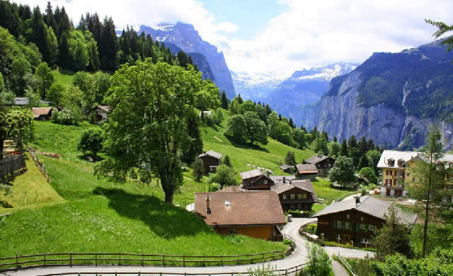 Wengen - Lauterbrunnen, Switzerland