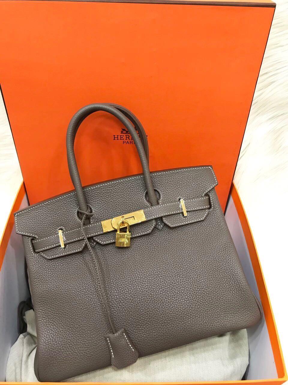 e38d8e7e24a ... cheap hermes birkin b30cm eutope togo ghw mirror original leather bag..part  2 99222