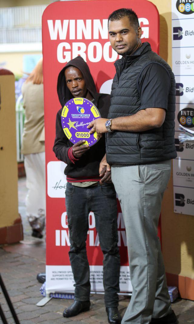 Grooms Initiative Winner - 22nd December 2019 - Race 5 - Noludwe Vikani - ROMANESCA