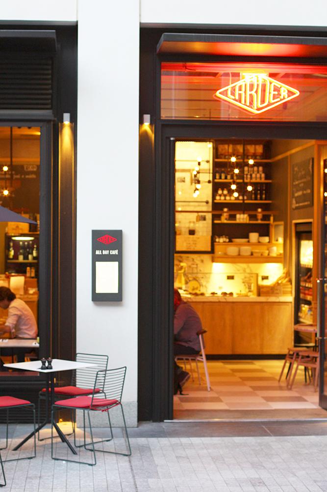 Casual supper at The Larder, Fitzrovia - London restaurant blog