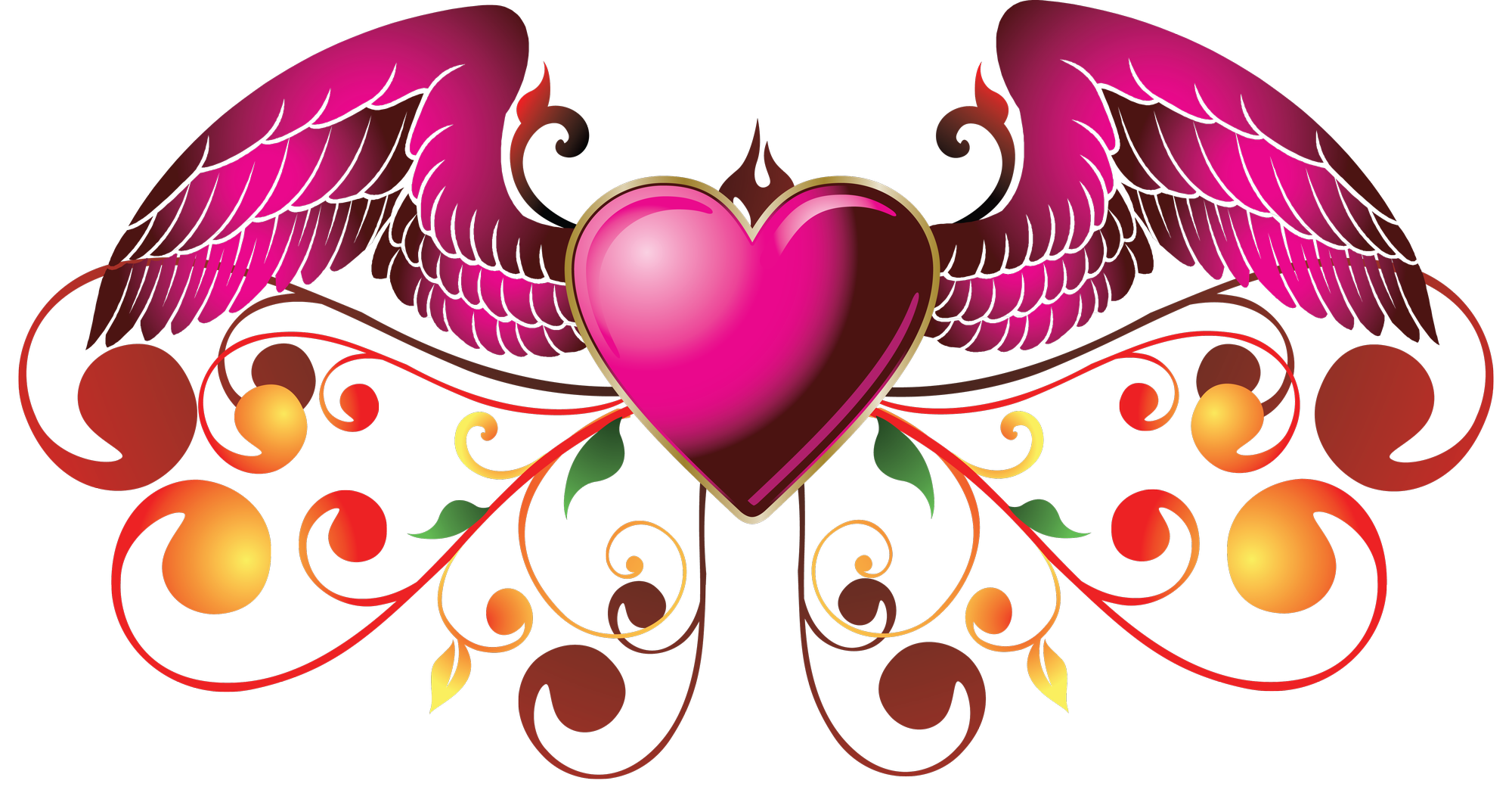 PNG-Heart Pink
