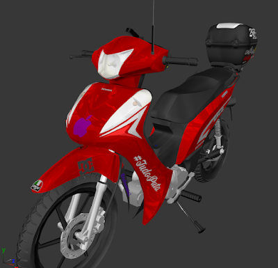 GTA SA - HONDA BIZ 125 (PC FRACO)