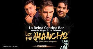 Concierto de Juancho de la Espriella en Bogotá | La Reina Bar