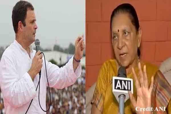 anandiben-slams-rahul-gandhi-congress-for-comment-women-shorts