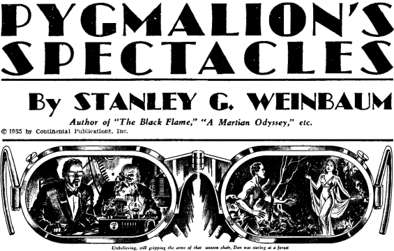 Image result for Pygmalion's Spectacles
