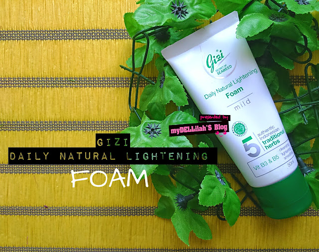 Gizi Super Daily Natural Lightening FOAM