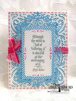 Our Daily Bread Designs Stamp Set: Healing Prayers, Our Daily Bread Designs Paper Collection:: Boho Bolds, Our Daily Bread Designs Custom Dies: Filigree Frames, Vintage Flourish Pattern