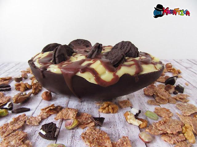 Come fare un uovo di cioccolato ripieno