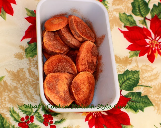this is how to make roasted cinnamon sweet potatoes