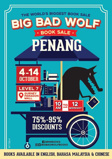 Big Bad Wolf Pulau Pinang 2018, pesta buku, pesta buku pulau pinang, penang book sale, book sales, BBW Penang, Tarikh BBW Penang, lokasi BBW Penang, Penang , Big Bad Wplf, BBW, BBW 2018,