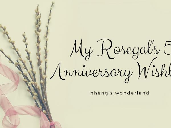 My Rosegal's 5th Anniversary Wishlist