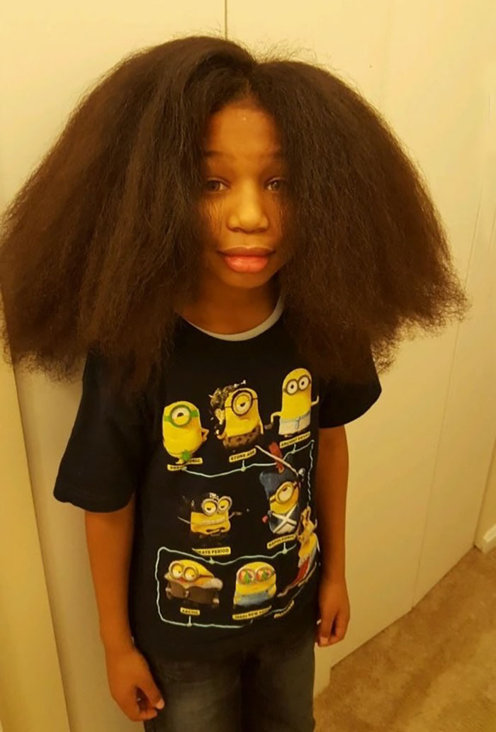 This 10-Year-Old Boy Spent 2 Years Growing His Hair To Make Wigs For Kids With Cancer - The amount of hair he grew was incredible