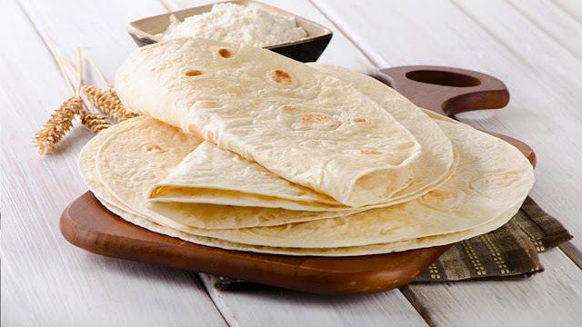 Easy Recipe, To Make Flour Tortillas .