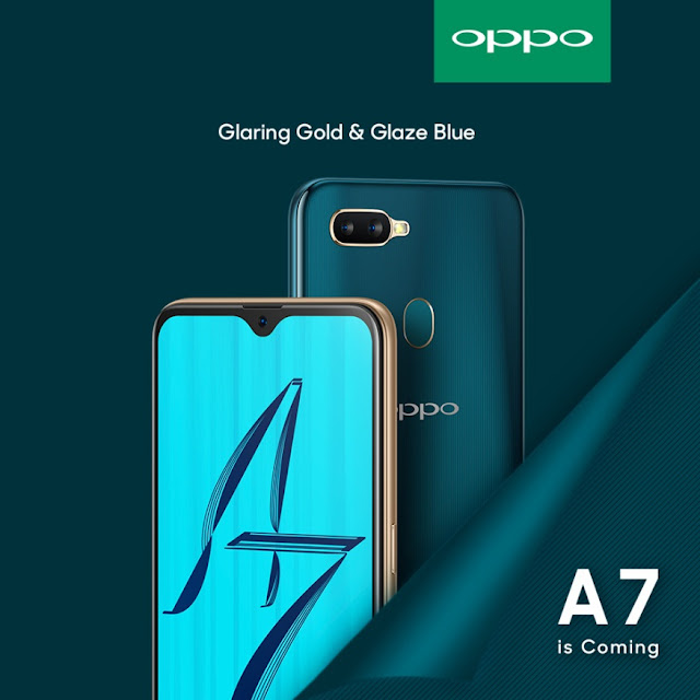 OPPO A7 is the super full screen phone that redefines high-end design