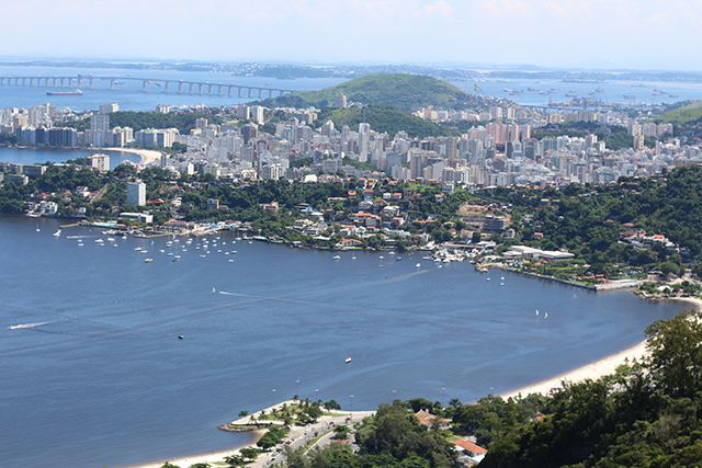 Vista do Parque da Cidade Niterói