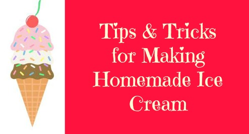 Frugal foodie mama my tips tricks for making homemade ice cream pin it ccuart Gallery