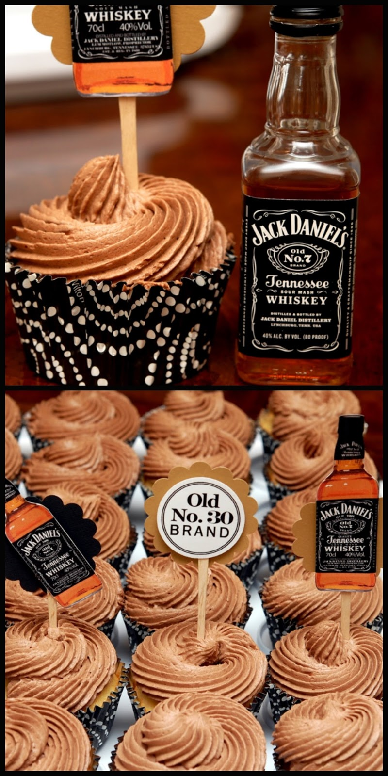 Jack Daniel S Cupcakes For The Grown Ups Hugs And