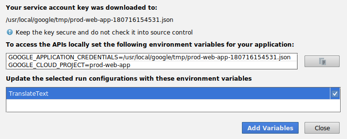 Google cloud platform blog lastly select the run configuration that you created earlier so that the plugin can inject the necessary environment variables for accessing the cloud fandeluxe Gallery