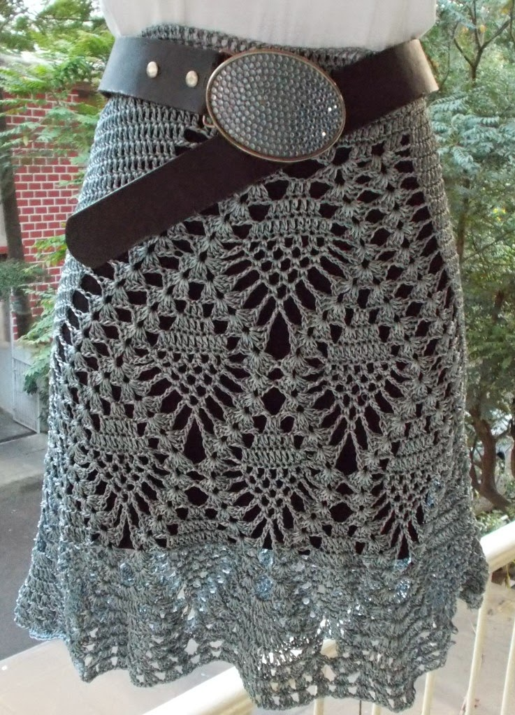 free crochet top pattern, free crochet skirt pattern