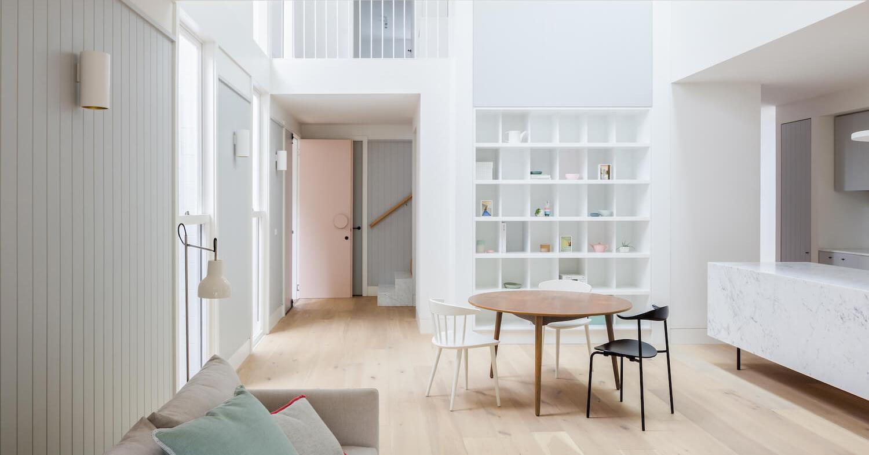 Casa moderna dai colori delicati a sydney arc art blog for Colori interni casa moderna