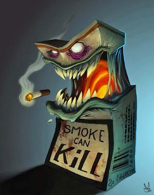 Zigaretten Schachtel lustig