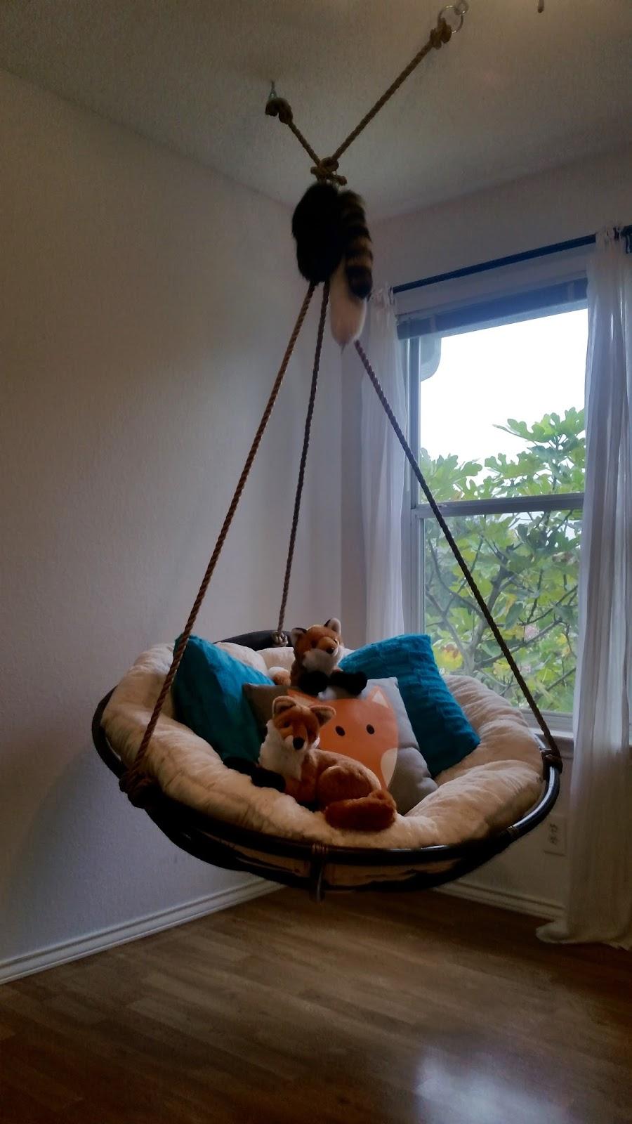 Fox Tales Diy Hanging Papasan Chair