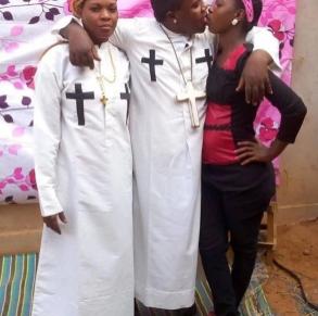 Tanzania detains 'drinking and kissing pastor'
