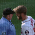 Bryce Harper ejected for slamming helmet while arguing called third strike (Video)