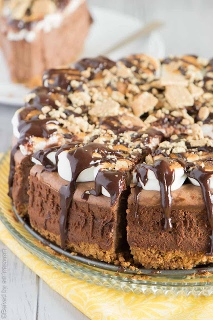 smores cheesecake recipe