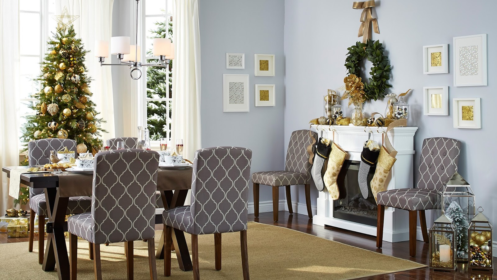 Creative Ways To Use Gold In Your Holiday Decor Rambling