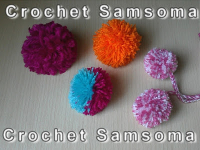 طريقة عمل كرة البومبون - How to Make Mini Yarn Pom Poms - . طريقة عمل كرة البومبون كيفية عمل كرات الصوف . طرق بسيطة لصنع كرة الصوف. عمل كرة صوف كروشيه . طريقة عمل كرة البومبون او كرة الصوف. How to Make Mini Yarn Pom Poms . كيفية صنع كرات الصوف. yarn pom pom How to Crochet Pom Pom   . كروشيه . تعليم الكروشيه للمبتدئين بالفيديو  .تعلم الكروشيه crochet pom pom .دروس لتعليم الكروشيه للمبتدئات crochet samsoma  crochet