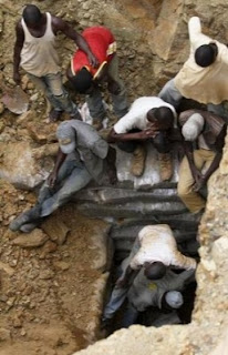 Lead toxicity and lead poisoning is a widespread problem for children of gold mining African families
