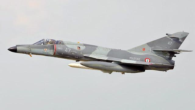 Argentina compra a Francia 5 cazabombarderos de la época de la Guerra de Malvinas