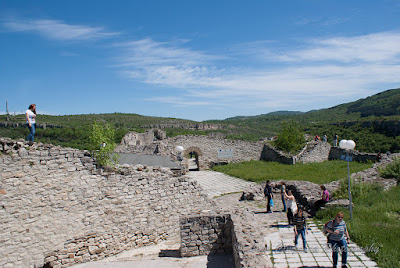 Medieval Fortress Lovech Bulgaria Ловеч