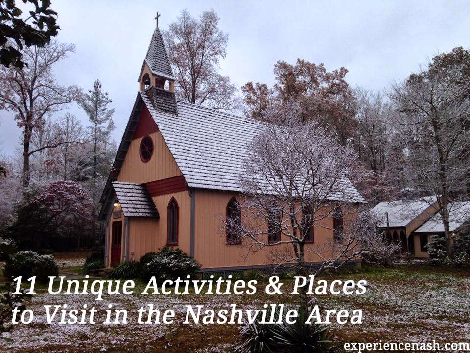11 unique activities places to visit in and around nashville experience nashville. Black Bedroom Furniture Sets. Home Design Ideas