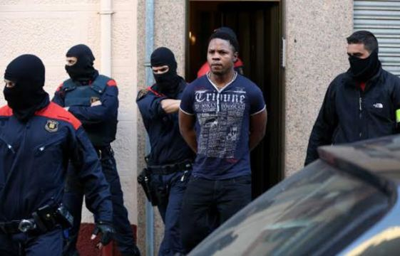 21 members of a Nigerian criminal organisation arrested in a raid by Barcelona Police for forcing Nigerian women into prostitution