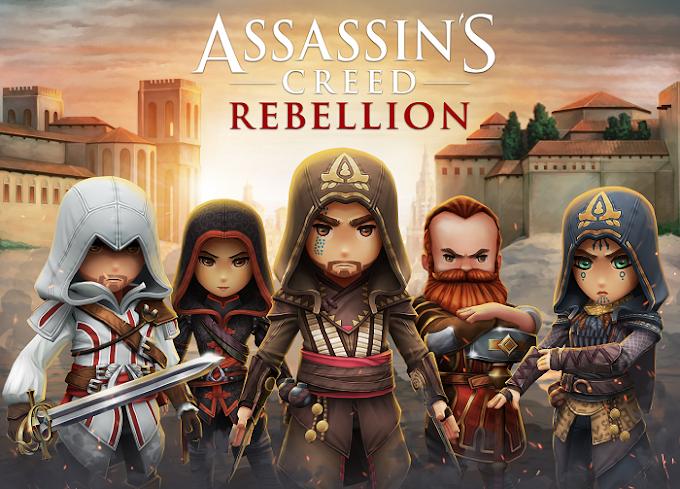 Assassin's Creed Rebellion - Το νέο Assassin's Creed παιχνίδι διαθέσιμο δωρεάν για smartphones
