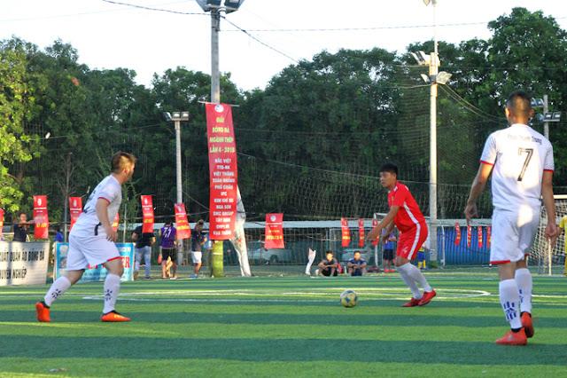 Quốc Việt có một trận đầu xuất sắc khi anh là Thủ lĩnh đội Bắc Việt FC