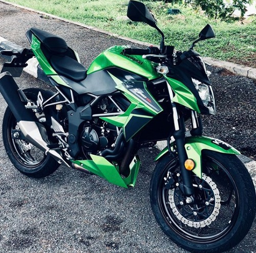Design Kawasaki Z250 SL