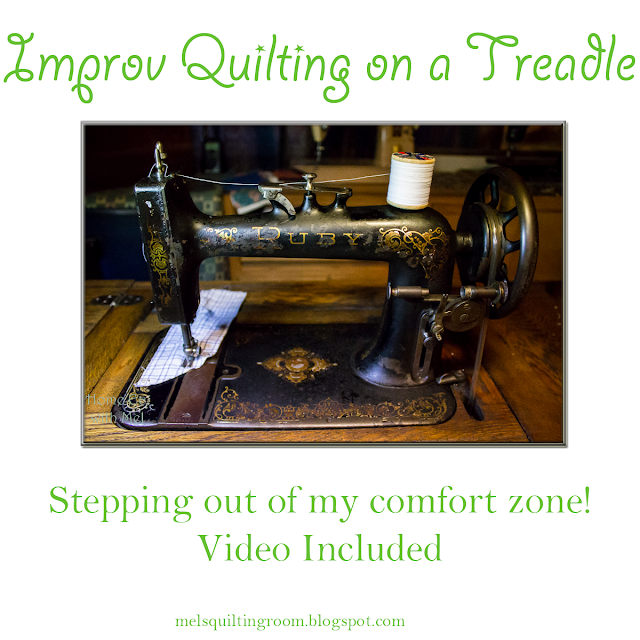 new home ruby treadle sewing machine