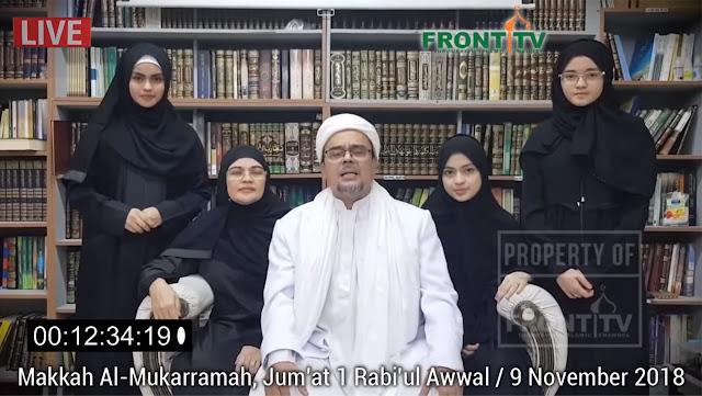 Habib Rizieq : Banyak Pernyataan KBRI Tidak Sesuai Fakta